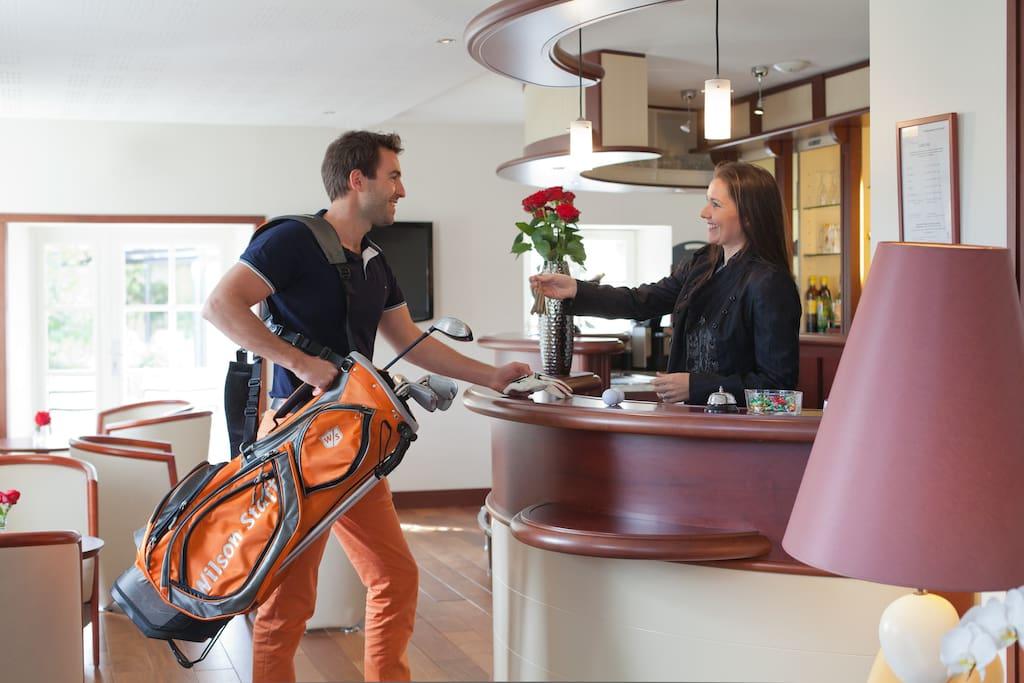Accueil information réservation pour Golf
