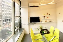 Luminous APARTMENT in heart of Buenos Aires City