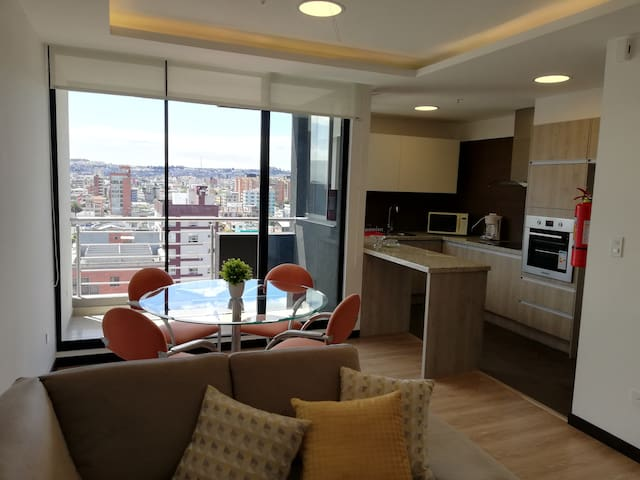 New Luxury Apartment in Quito