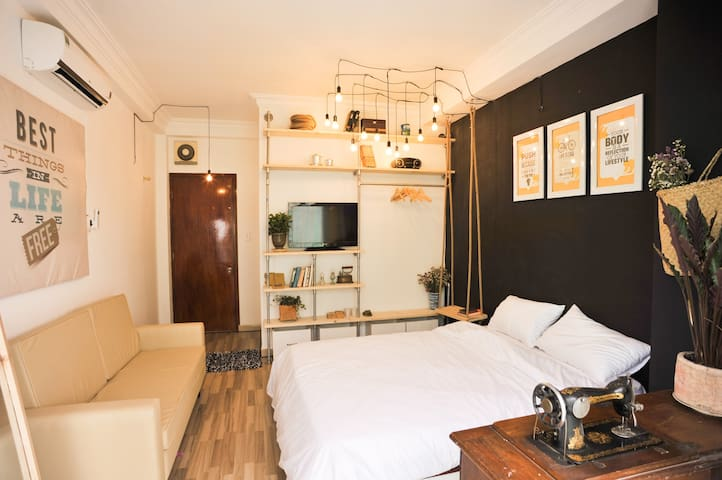 Industrial-style Room center HCMC - Ho Chi Minh City - Bed & Breakfast