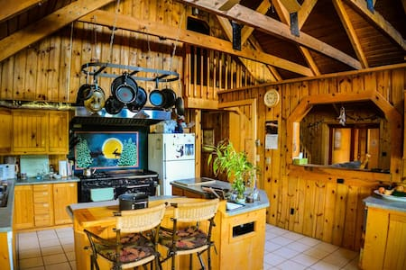 Mt. Peale Animal Sanctuary and Retreat Cabins - La Sal
