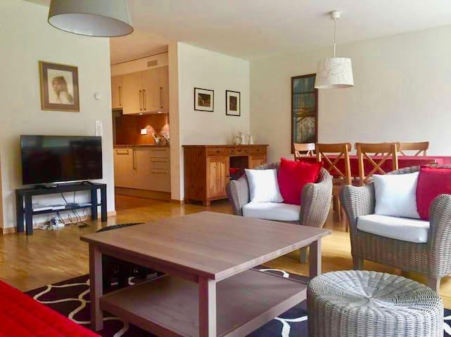Charming apartment with garden near the EHL / CHUV