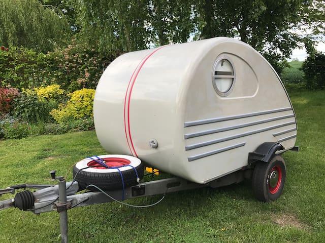 Original Retro Teardrop Caravan in Suffolk
