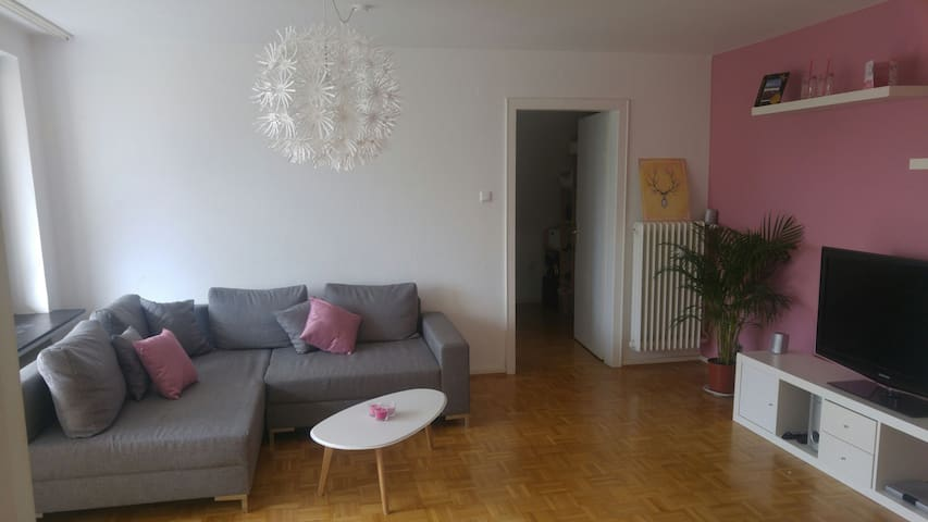 Zentrales Zimmer mit Balkon - Hildesheim - Apartemen