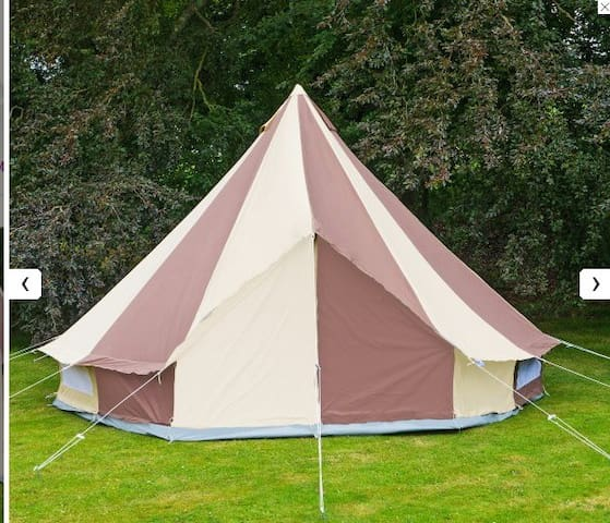 Reforge Glade ~ Cookies and Cream Belltent - Devon - Tent
