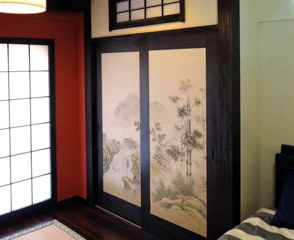 Japanese closet