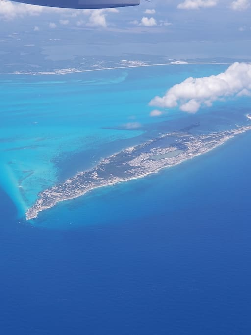 ISLA MUJERES - View from plane
