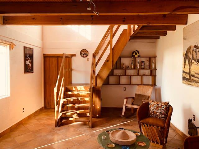 Acogedora Casa de Campo con aroma a tranquilidad.