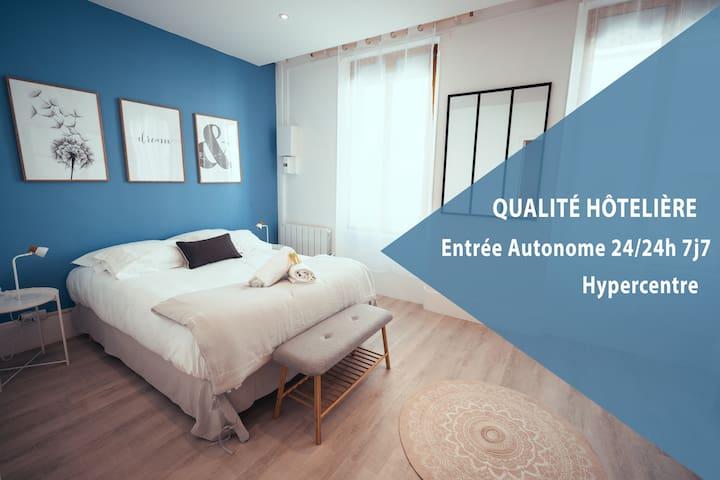 ★ Confort Nordique en Coeur de Ville Accessible 24h/24h 7/7★