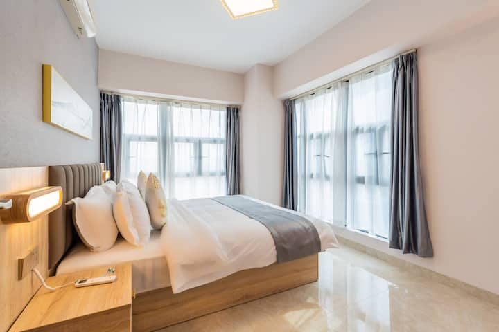 【北欧♥Ins风】轻奢Simmons两房一厅公寓Ⅱ+绿岛湖·绿岛广场·陶瓷产业基地·箭牌东鹏