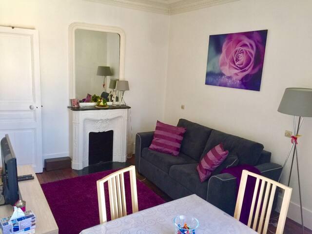 Charming  flat not far from the Eiffel Tower - Paris - Wohnung