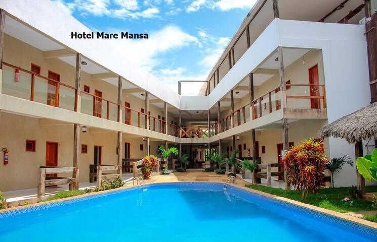 Maré Mansa Hotel Conforto Tranquilidade, Segurança