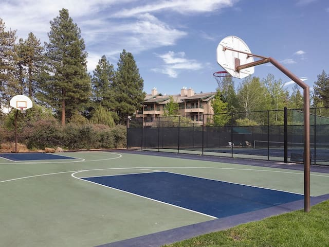 Will you have time to shoot some hoops?  Perhaps make some time.