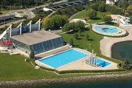 Logement spacieux et une grande chambre lumineuse - 纳沙泰尔(Neuchâtel) - 公寓