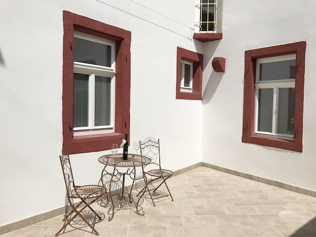 Apartment Vivaldi in a Baroque residence - Patio