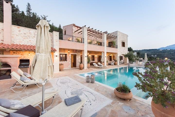 Rhea Residence, luxury villa in Gavalochori