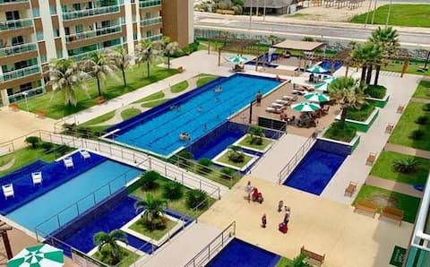 Apartamento Vista Mar No VG FUN Praia do Futuro