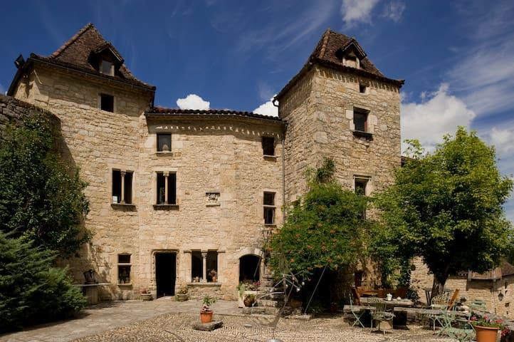 Château de Saint Cirq Lapopie - Piscine couverte - Saint-Cirq-Lapopie - Castle