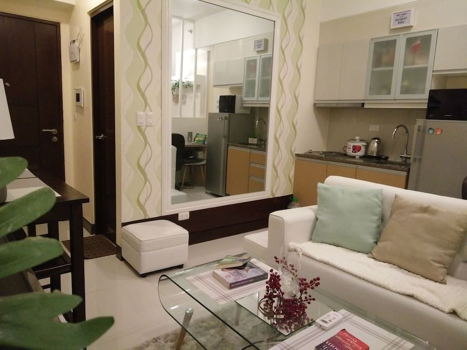 Living, Dining & Kitchen Area