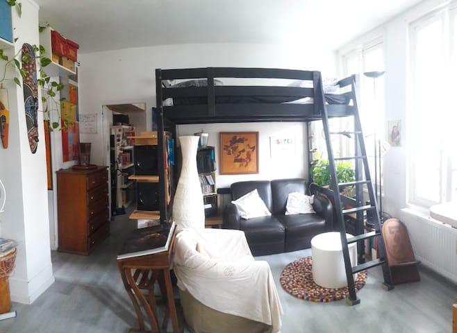 54m² dans maison de ville (6 vrais couchages)
