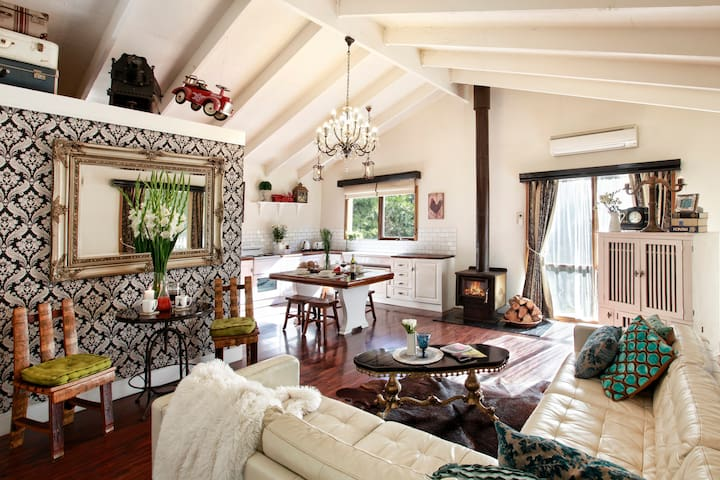 WOODEND COTTAGE - French Provincial Rustic Cottage