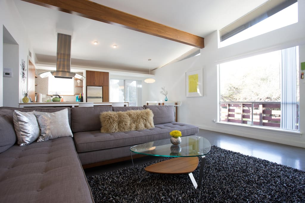 Spacious open floor plan gives you tons of room to relax.