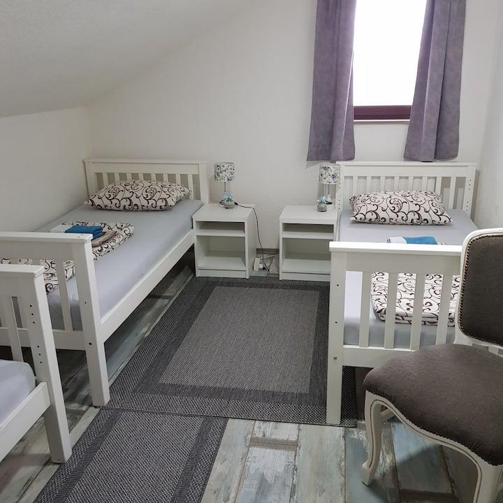 Trokrevetna soba sa 3 pojedinacna kreveta br 4