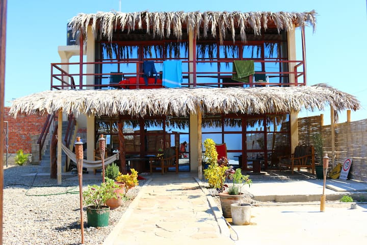 Habitacion privada con vista al mar - Lobitos District - Bed & Breakfast