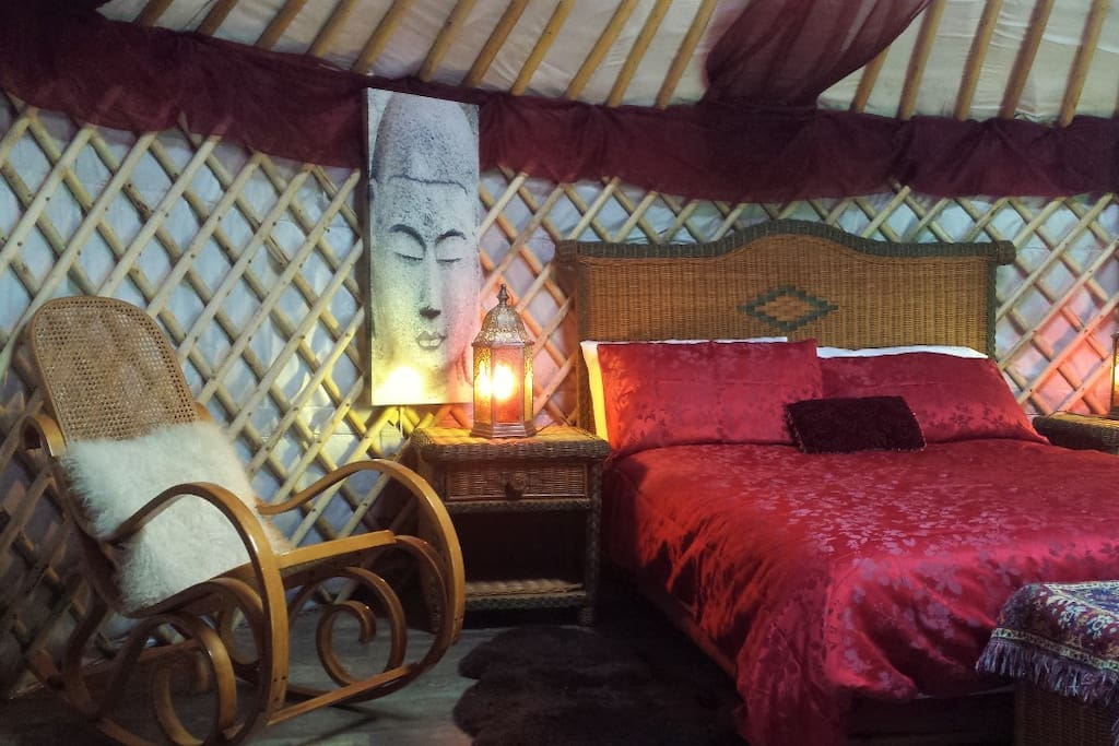 a romantic and exotic space