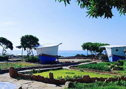 Fishing Boat by Ocean Point Maroc