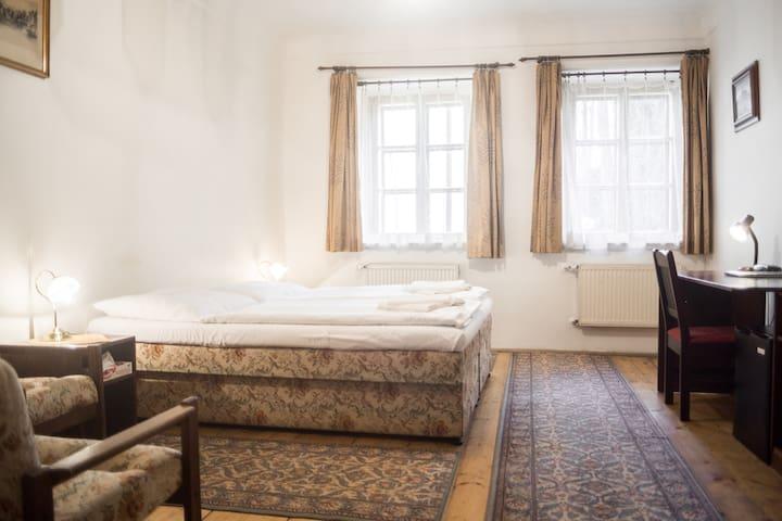 Vintage double room near to Charles bridge