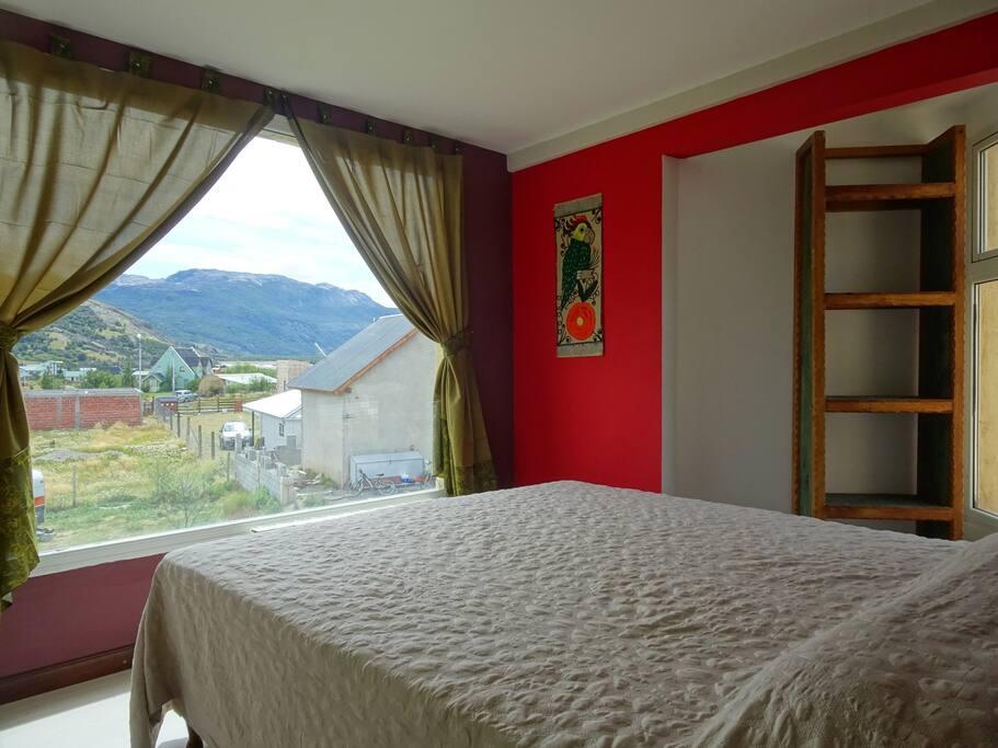 habitación con  gloriosa king size