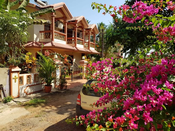 AC MASTER PRIVATE BED ROOM IN SOUTH GOA