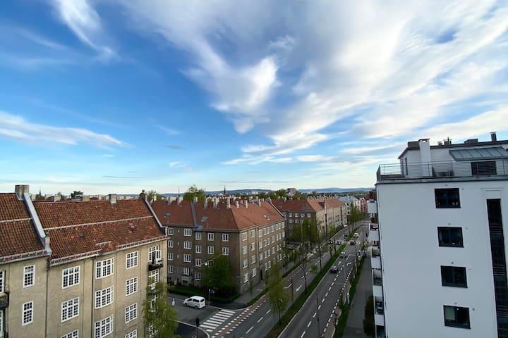 Bo høyt over Oslo