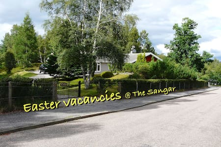 Sangar: Exquisite Highland Cottage Cairngorms NP - Highland - Rumah