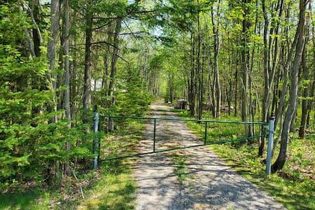 Camping rustique - Terre à bois Famille Perreault