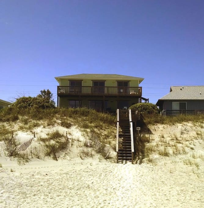 Oceanfront Houses For Rent At Atlantic Beach Nc