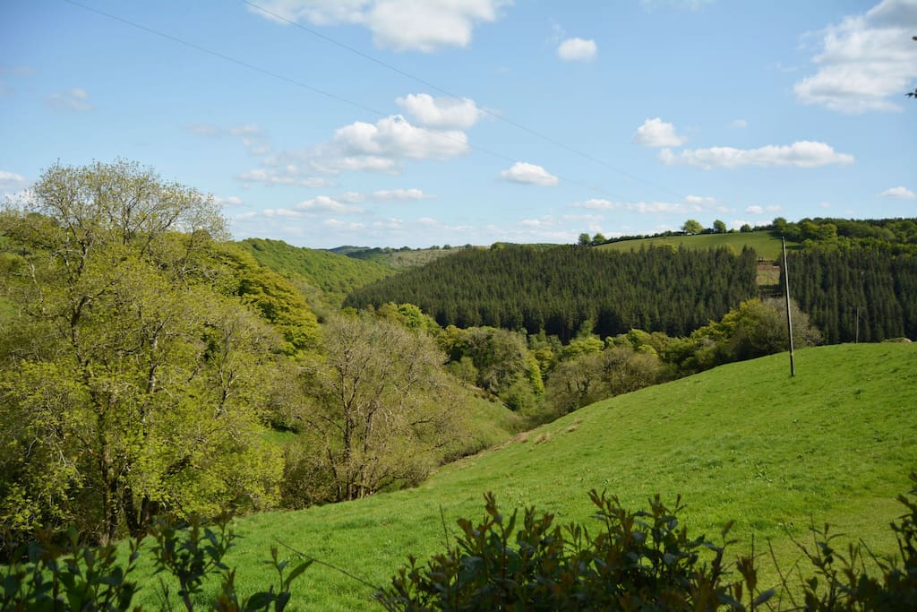 A perfect base for exploring Exmoor, with easy access to its superb footpaths