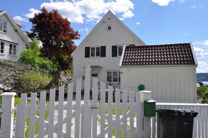 Beautiful house in old town Drøbak.