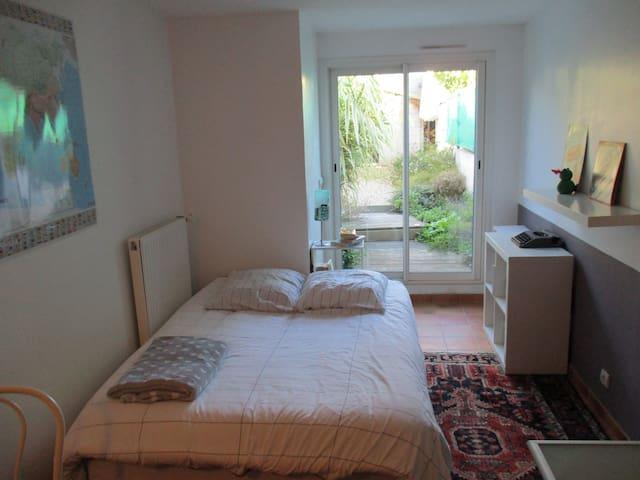 chambre à proximité des commerces et de la plage - Pornichet - Huis