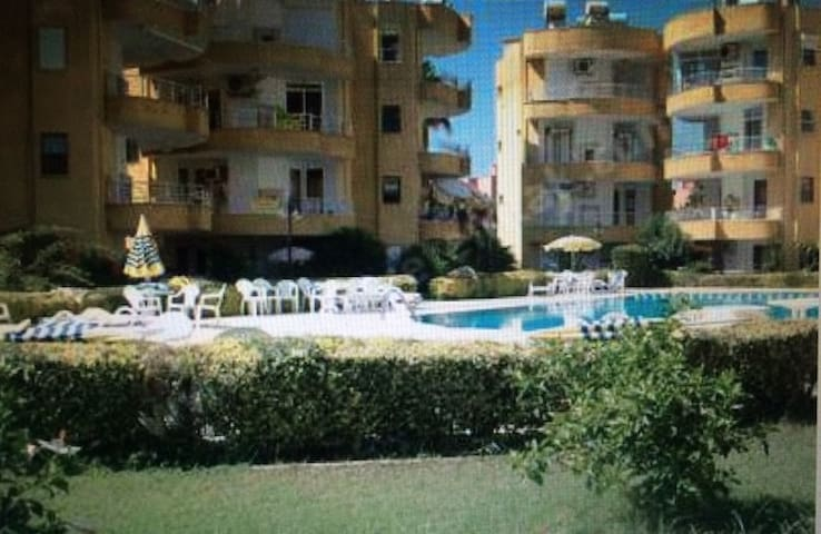 Alanya'da Konakli' da havuzlu sitede - Payallar Belediyesi - Apartment