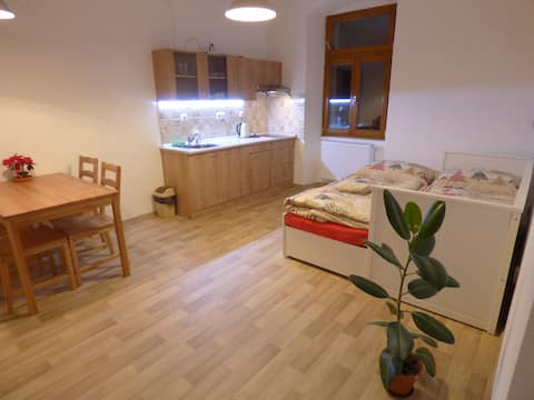 Tranquilo apartamento en Křivoklát cerca del castillo