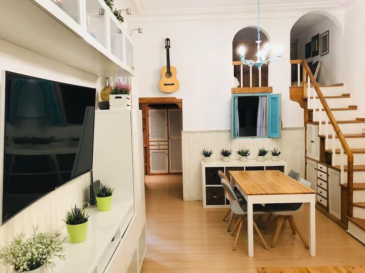 Madrid's Best Location! Vintage Loft