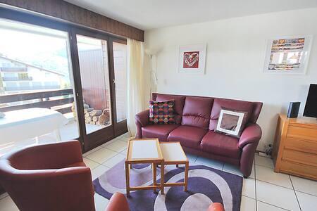 Haute-Nendaz chambre double à 300m des remontées - Guesthouse