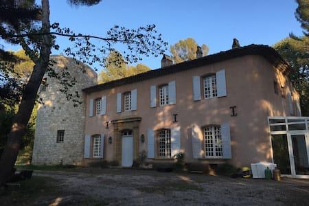 Chbre double (140) en bastide à Aix - Aix-en-Provence - Haus