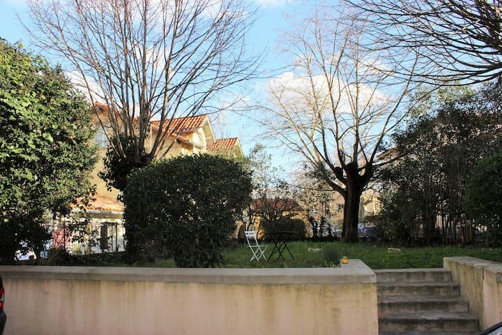 Chambre avec vue sur le jardin - Revel - Casa
