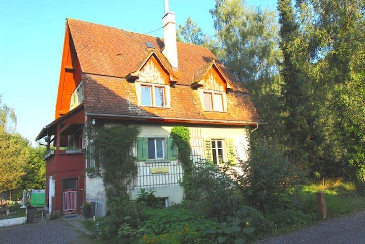 "BnB Birkenhof ""Romantikzimmer"" - Steckborn - Bed & Breakfast"