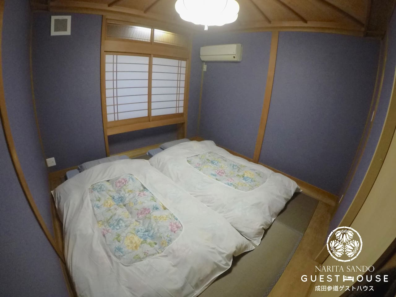 Deluxe Twin Room - Japanese Style Room with Share Facilties [Have Window]
