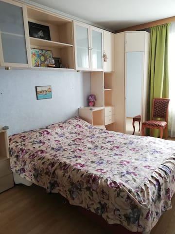 Удобные комнаты у радушной хозяйки рядом с центром