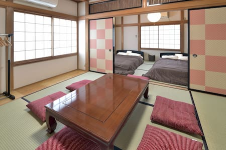 YAIZU HOUSE HOTEL★Renovated w/3BR★free parking